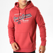 /achat-sweats-capuche/jack-and-jones-sweat-capuche-logo-rouge-brique-189466.html
