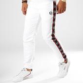 /achat-pantalons-joggings/sergio-tacchini-pantalon-de-jogging-a-bandes-doral-38410-blanc-bleu-marine-rouge-189357.html