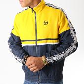 /achat-vestes/sergio-tacchini-veste-zippee-a-bandes-doral-38409-jaune-bleu-marine-blanc-189361.html