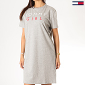 /achat-robes/tommy-hilfiger-jeans-robe-tee-shirt-femme-night-1638-gris-chine-189356.html