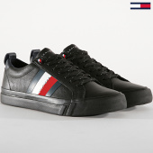 /achat-baskets-basses/tommy-hilfiger-baskets-flag-detail-leather-sneaker-fm0fm02576-blanc-189395.html
