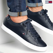 /achat-baskets-basses/tommy-hilfiger-baskets-essential-leather-collar-vulcan-2577-midnight-189405.html