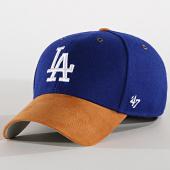 /achat-casquettes-de-baseball/47-brand-casquette-los-angeles-dodgers-willowbrook-mvp-wlobm12wms-bleu-roi-189548.html