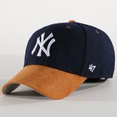 /achat-casquettes-de-baseball/47-brand-casquette-new-york-yankees-willowbrook-mvp-wlobm17wms-bleu-marine-189549.html