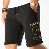 /achat-shorts-jogging/93-empire-short-jogging-dossard-noir-or-189725.html
