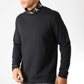 /achat-t-shirts-manches-longues/calvin-klein-tee-shirt-manches-longues-col-roule-monogram-3684-noir-189491.html