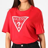 /achat-t-shirts/guess-tee-shirt-femme-w94i73-k8ha0-rouge-blanc-189561.html