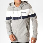 /achat-sweats-zippes-capuche/jack-and-jones-sweat-zippe-capuche-new-shake-down-gris-chine-blanc-bleu-marine-189631.html