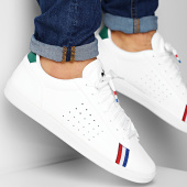/achat-baskets-basses/le-coq-sportif-baskets-courtstar-sport-1920099-optical-white-evergreen-189659.html