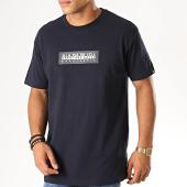 /achat-t-shirts/napapijri-tee-shirt-sox-kbs1761-bleu-marine-189522.html