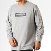 /achat-t-shirts-manches-longues/napapijri-tee-shirt-manches-longues-sox-kbr1601-gris-chine-189523.html