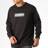 /achat-t-shirts-manches-longues/napapijri-tee-shirt-manches-longues-sox-kbr0411-noir-189525.html
