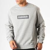 /achat-sweats-col-rond-crewneck/napapijri-sweat-crewneck-box-kbu1601-gris-chine-189529.html