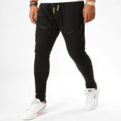 /achat-pantalons-joggings/ikao-pantalon-jogging-slim-f566-noir-189714.html