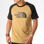 /achat-t-shirts/the-north-face-tee-shirt-raglan-easy-37fv-vert-kaki-noir-189531.html