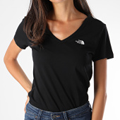 /achat-t-shirts/the-north-face-tee-shirt-slim-femme-col-v-simple-dome-a3h6-noir-189626.html