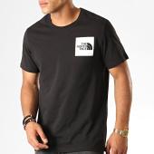 /achat-t-shirts/the-north-face-tee-shirt-fine-ceq5-noir-blanc-189635.html