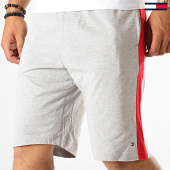 /achat-shorts-jogging/tommy-hilfiger-short-jogging-a-bandes-jersey-panel-short-1593-gris-chine-rouge-189487.html