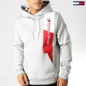 /achat-sweats-capuche/tommy-hilfiger-jeans-sweat-capuche-graphic-flag-fleece-0278-gris-clair-chine-189509.html