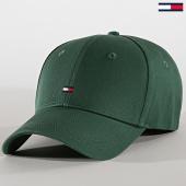 /achat-casquettes-de-baseball/tommy-hilfiger-casquette-femme-bb-cap-7189-vert-anglais-189644.html