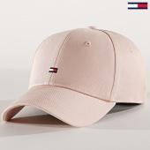 /achat-casquettes-de-baseball/tommy-hilfiger-casquette-femme-bb-cap-7189-rose-pale-189645.html