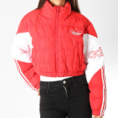 /achat-doudounes/adidas-doudoune-femme-cropped-puffer-ed7599-rouge-blanc-189835.html