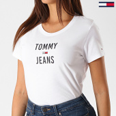 /achat-t-shirts/tommy-hilfiger-jeans-tee-shirt-femme-square-logo-7155-blanc-189831.html