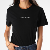 /achat-t-shirts/calvin-klein-jeans-tee-shirt-slim-femme-2258-noir-190046.html