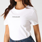 /achat-t-shirts/calvin-klein-jeans-tee-shirt-slim-femme-2258-blanc-190047.html