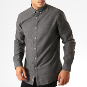 /achat-chemises-manches-longues/celio-chemise-manches-longues-napinpoint-gris-anthracite-chine-189967.html