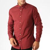 /achat-chemises-manches-longues/celio-chemise-manches-longues-napinpoint-bordeaux-chine-189970.html