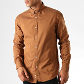 /achat-chemises-manches-longues/celio-chemise-manches-longues-napinpoint-marron-chine-189972.html