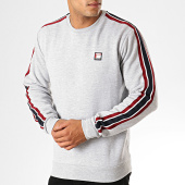 /achat-sweats-col-rond-crewneck/teddy-smith-sweat-crewneck-a-bandes-steven-gris-chine-189892.html