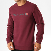/achat-sweats-col-rond-crewneck/teddy-smith-sweat-crewneck-strat-bordeaux-189895.html
