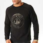 /achat-sweats-col-rond-crewneck/teddy-smith-sweat-crewneck-swencho-noir-dore-189897.html