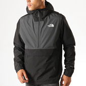 /achat-vestes/the-north-face-veste-zippee-capuche-waterproof-fanorak-f0a3xzm-noir-gris-190035.html