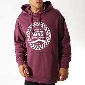 /achat-sweats-capuche/vans-sweat-capuche-checkered-side-stripe-front-56q7d-bordeaux-blanc-190060.html