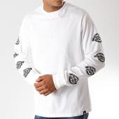 /achat-t-shirts-manches-longues/dickies-tee-shirt-manches-longues-dorton-blanc-noir-190196.html