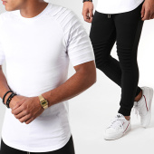 /achat-ensembles-survetement/lbo-ensemble-tee-shirt-et-pantalon-jogging-bicolore-824-noir-blanc-190099.html