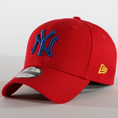 /achat-casquettes-de-baseball/new-era-casquette-9forty-league-essential-12150301-new-york-yankees-rouge-bleu-190197.html