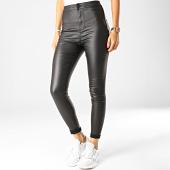 /achat-pantalons-carreaux/noisy-may-pantalon-femme-ella-noir-190180.html