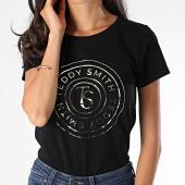 /achat-t-shirts/teddy-smith-tee-shirt-femme-tencho-noir-dore-190127.html