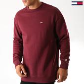 /achat-sweats-col-rond-crewneck/tommy-hilfiger-jeans-sweat-crewneck-classics-4469-bordeaux-190160.html