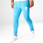 /achat-pantalons-joggings/untouchable-pantalon-jogging-skull-bleu-turquoise-blanc-190175.html