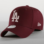 /achat-casquettes-de-baseball/new-era-casquette-femme-9forty-league-essential-12040439-los-angeles-dodgers-bordeaux-190231.html