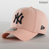 /achat-casquettes-de-baseball/new-era-casquette-enfant-9forty-league-essential-12119006-new-york-yankees-rose-190276.html