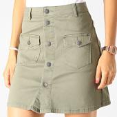 /achat-jupes/only-jupe-femme-five-button-vert-kaki-190205.html