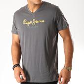 /achat-t-shirts/pepe-jeans-tee-shirt-col-v-eggo-v-gris-anthracite-190288.html