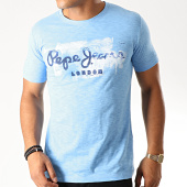 /achat-t-shirts/pepe-jeans-tee-shirt-slim-golders-bleu-clair-chine-190293.html