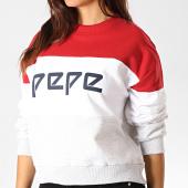 /achat-sweats-col-rond-crewneck/pepe-jeans-sweat-crewneck-femme-nastia-rouge-blanc-gris-chine-190297.html